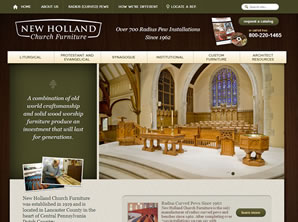 New Holland Church Furniture